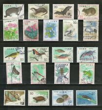 JAPAN : 21 Diff. NATURE CONSERVATION-1974-77, COMMEMO.,COMPL.,FU, # 32-a