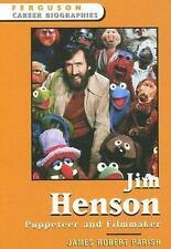 Jim Henson: Puppeteer And Filmmaker (Ferguson Career Biographies)-ExLibrary