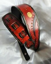 Gorgeous Hand Made Leather Guitar strap. 40% Off! Clearance!!
