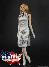 "1//6 Reggiseno Pizzo Mutandine Calze Lingeries Set per 12/"" PHICEN Figura ❶ USA Donna ❶"