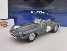 """AUTOart 73647 # Jaguar Lightweight E-Type Baujahr 1963 """" dunkelgrau """" 1:18 NEU"""