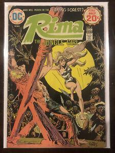 Rima: The Jungle Girl #4 FN 6.0 DC COMICS JOE KUBERT COVER