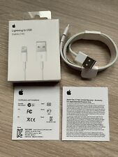 CHARGEUR APPLE USB CABLE LIGHTNING POUR IPHONE 5/6/7/8/X/XS/XR IPAD IPOD, BLANC