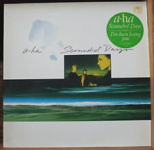 A-HA SCOUNDREL DAYS  GERMAN PRESS LP WB RECORDS 1986