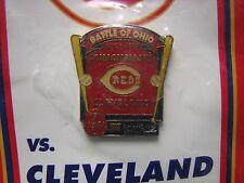 1998 Cincinnati Reds Pin  BATTLE OF OHIO  Reds vs. Indians  SEALED in Plastic !