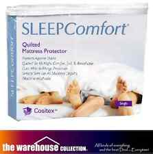 Sleep Comfort Anti Dustmite King Mattress Protector Cositex Quilted Stretch Fit