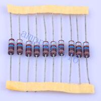 10pcs Carbon Composition vintage Resistor 0.5W 10M ohm +-20%