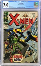 S461. X-MEN #36 by Marvel CGC 7.0 FN/VF (1967) 1st App. of MEKANO; WHITE Pages