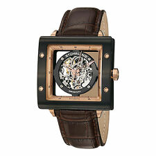 Mechanical (Automatic) Square Wristwatches with Skeleton