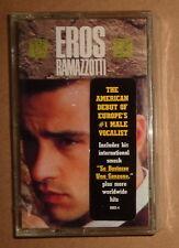 Eros Ramazotti - Self-Titled  (1991, Arista Cassette) - Brand new - original iss