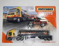 Matchbox Convoys MBX Cabover And Tanker / Badlander Dragon Slayer semi 3/8