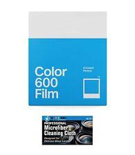 Impossible/Polaroid PRD4670 Color Film for Polaroid 600 Cameras+MicroFiber Cloth