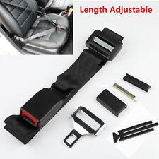1x Length Adjustable Auto Car Seat Belt Extender Buckle Clip Strap For Pregnant