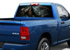 grim Reaper skull skeleton death Rear Window Decal Sticker Pick-up Truck SUV Car