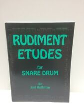 Rudiment Etudes by Joel Rothman Snare Drum Technique Exercises Book