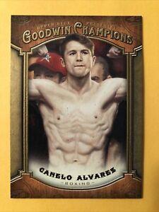 2014 Upper Deck Goodwin Champions Canelo Alvarez Rookie Card #13