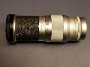 1958, Leitz Hektor f4.5 / 135mm Lens #1621833, screw mount, Leica M3 Camera