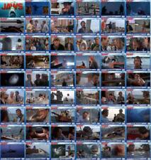 Jaws movie storyboard trading cards. Shark Scheider Gary Amity
