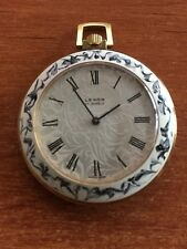 EXTREMELY RARE VINTAGE LEXON 17 JEWELS MECHANICAL POCKET WATCH SWISS MADE