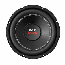 Pyle Dual Car Subwoofer 1000 Watt 4 Ohm 10-Inch Bass Audio Speaker PLPW10D Coil
