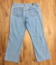 Wrangler Aura Short Rise Bootcut Jeans Light Stretch Womens Waist 37 Length 29.5