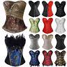 Womens Costumes Gothic Corset Top Lingerie Bustier Waist Trainer Boned Plus Size