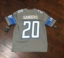 Nike Men's Detroit Lions Barry Sanders Color Rush Football Jersey Sz.3XL NEW HOF