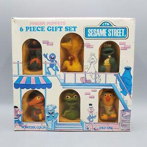 Sesame Street finger puppets Tara Toy 1980s