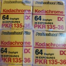 4 NEW Vintage RARE 03/89 Kodachrome 64 Color Film 36 Exposures PKR 135-36  KODAK