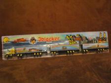Iblacker Bier US Road Train HZ vergoldet ZM 16 Achsen 2 Hänger 56 cm lang