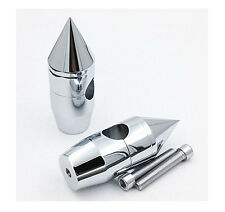 Motorcycle 1'' inch Spike Handlebar Risers for Harley Cruisers Choppers Chromed