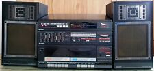 SHARP VZ-1550A Stereo System - Dual Cassette  /Both Sides Record Player / AM FM