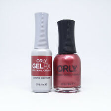 """Orly Deep Wonder Collection Fall 2018 Gel FX + Nail Lacquer """"Cosmic Crimson"""""""