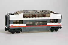 LEGO City Custom Made Passenger Club Car Observation Train Carriage 60051 Type2