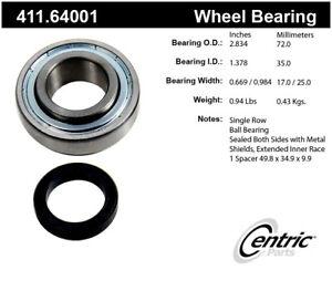 Axle Shaft Bearing Kit-Premium Bearings Rear Centric 411.64001