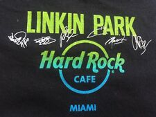 Org.MENS Hard Rock Cafe HRC Limited Linkin Park Miami FL Chester B T-shirt XXL