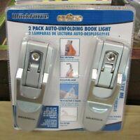 Brand New Workforce 2-Pack Auto-Unfolding Book Light 129-159