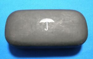 Maui Jim Umbrella Design Sunglasses Case Black Large Clamshell