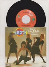 Vinyl Single: Hornettes - You've got a right to love somebody / Don't let go