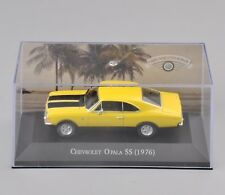 Atlas 1/43 Scale Chevrolet Opala SS (1976)  Diecast Yellow Car Model Toy