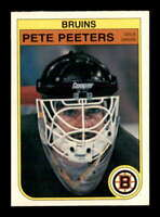 1982 O-Pee-Chee #22 Pete Peeters  NM/NM+ X1680837