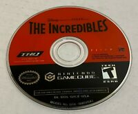 Nintendo Gamecube game Disney The Incredibles Authentic tested disc only