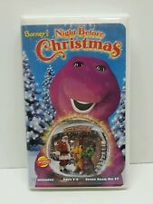 Barney's Night Before Christmas [VHS] Clamshell 1999