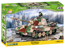 BRICKS COBI 2540 Panzerkampfwagen VI Ausf. B Königstiger SMALL ARMY 535 ELEMENT