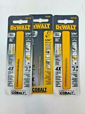 3 Pack Dewalt Split Point Drill Bit 564 In Dwa1205 For Stainless Steel