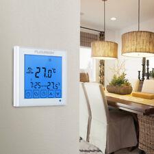 Digital LCD Thermostat Raumthermostat Fußbodenheizung Programmierbar Touchscreen