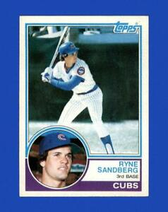 1983 Topps Set Break # 83 Ryne Sandberg NM-MT OR BETTER *GMCARDS*