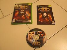 XBOX - STAR WARS KNIGHTS II OF THE OLD REPUBLIC THE SITH LORDS - OK Xbox 360!!!