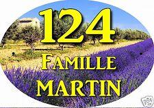 plaque numéro de maison ou boite aux lettres extérieur réf 50 choix inscription
