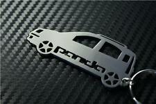 For Fiat PANDA CAR keyring keychain porte-clés 4x4 MULTIJET 100HP CROSS TREKKIN